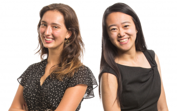 Emily Venturi '18 and Alice Huang '16