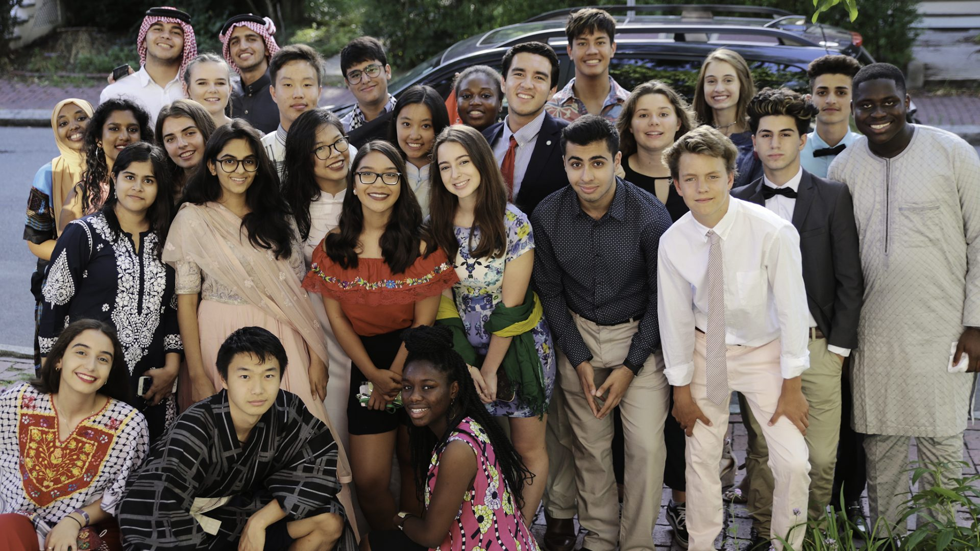 Group shot of Global Citizens Initiative Fellows.