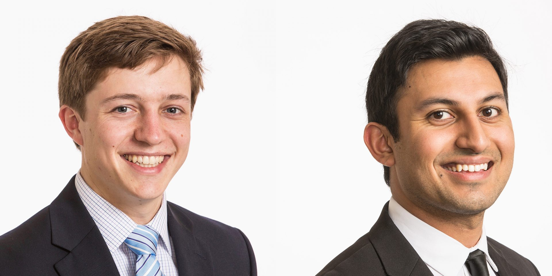 Cameron Champion '20 and Mihir Shah '20