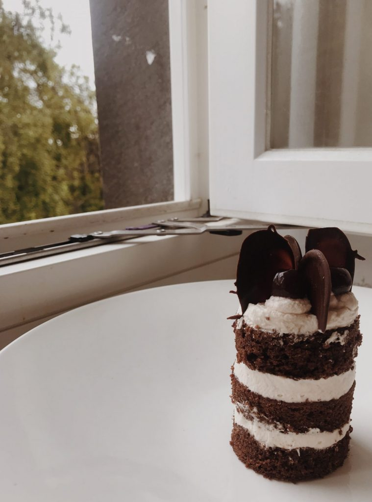 Black Forest gateau.